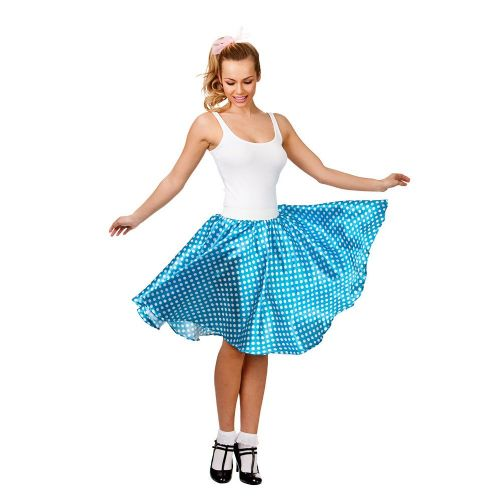 50s Retro Skirt for 50s Rockabilly Fifties Fancy Dress